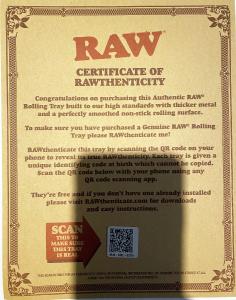 Tava pentru rulat tigari Raw Girl1