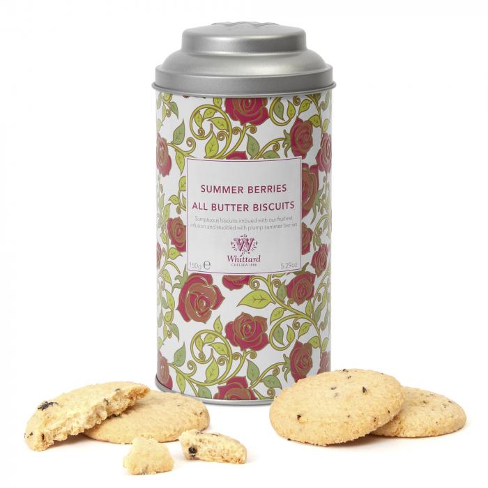 Biscuiti cu fructe de padure Summer Berries, colectia Tea Discovery, Whittard of Chelsea 0