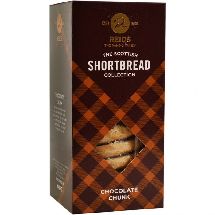 Biscuiti scotieni cu ciocolata neagra, Reid's, 150 gr [0]