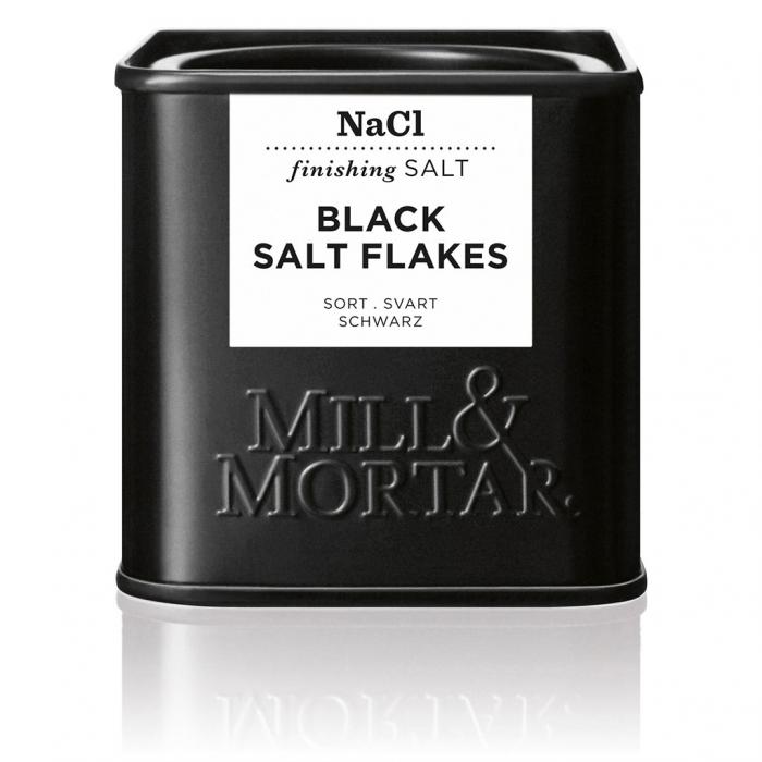 Black Flakesalt, organic, Mill&Mortar 0