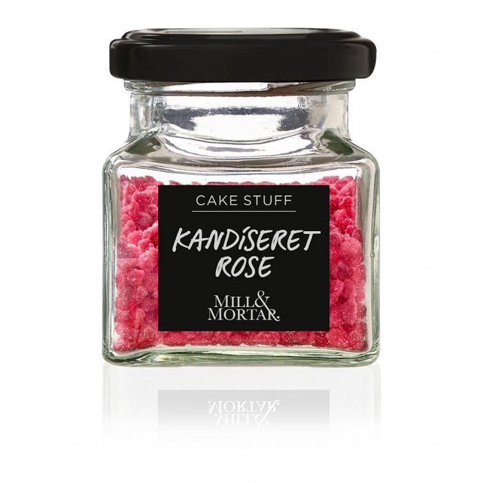 Boboci de trandafiri confiati, Candied Rose, organic, Mill&Mortar,  40 gr [0]