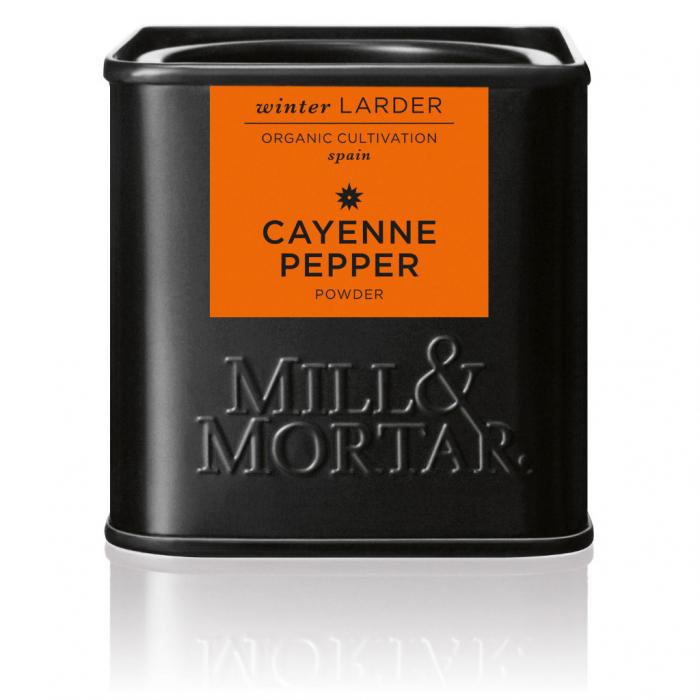 Cayenne Pepper, organic, Mill&Mortar,  45gr [0]