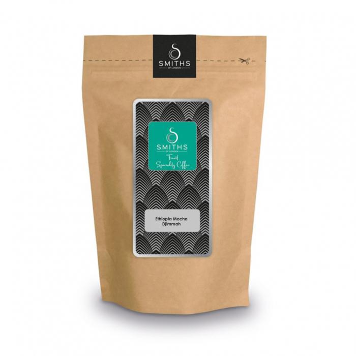Cafea boabe de origini, Ethiopian Mocha Djimma, Smith's Coffee, 1 kg [0]