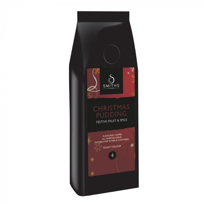 Cafea cu aroma, Christmas Pudding, Smith's Coffee, 250 gr 0