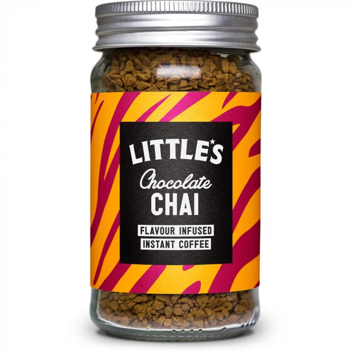 Cafea instant cu aroma  de Chocolate Chai, Little's, 50 gr [0]