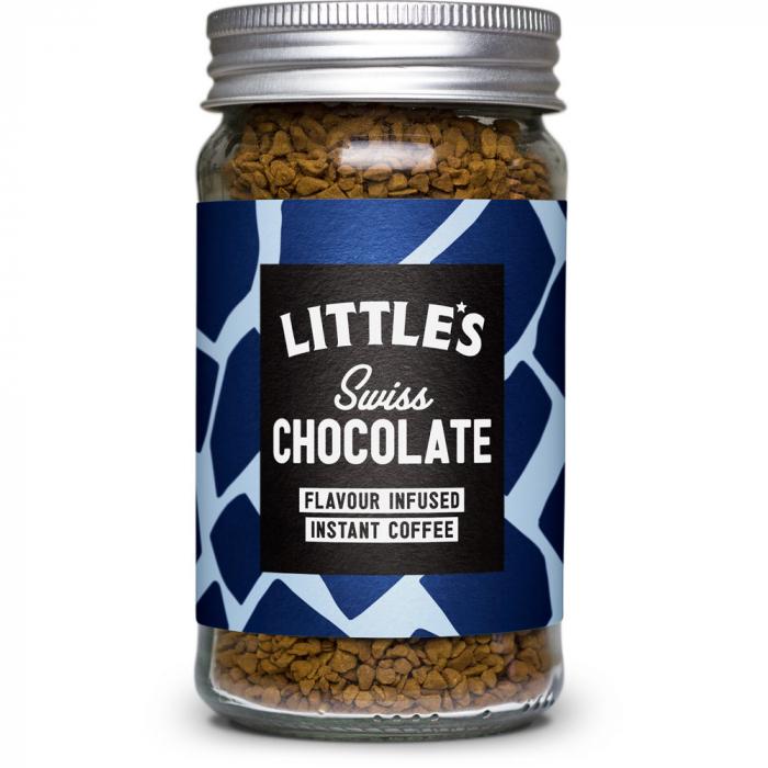 Cafea instant cu aroma de ciocolata elvetiana, Swiss Chocolate, little's , 50 gr [0]