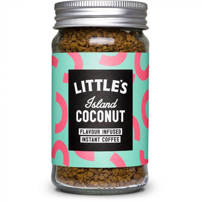 Cafea instant cu aroma de cocos 0