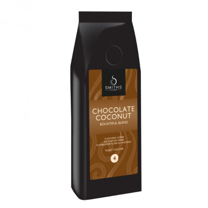 Cafea cu aroma de ciocolata si cocos. [0]