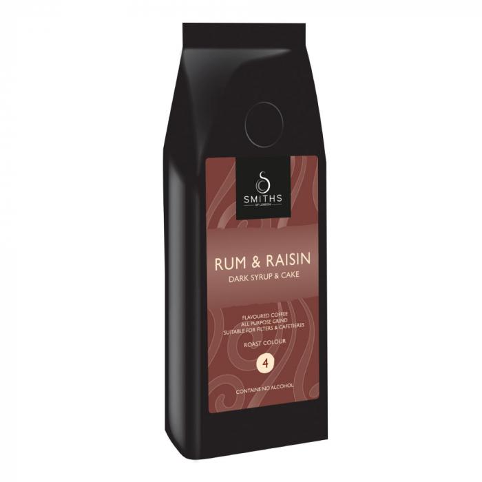 Cafea cu aroma de rom si stafide. [0]