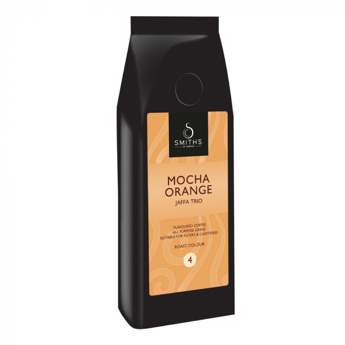 Cafeaua are aroma de cafea mocha cu portocale. [0]