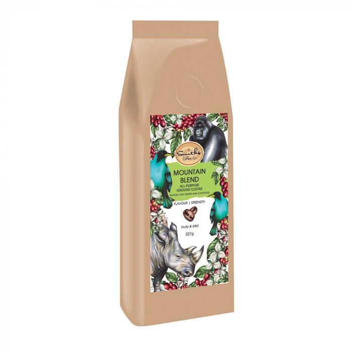 Cafea macinata Mountain Blend, Wildlife Collection, Smith's Coffee, 227 gr 1