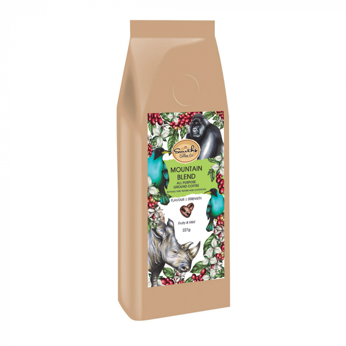 Cafea macinata Mountain Blend, Wildlife Collection, Smith's Coffee, 227 gr 0