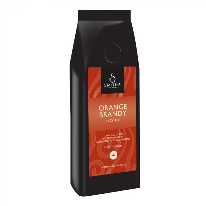 Cafea macinata Orange Brandy, cu aroma de portocale si brandy, Smith's Coffee, 250 gr [0]