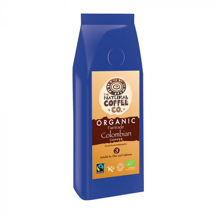 Cafea organica Colombian, Organic fairtrade, Smith's Coffee, 227gr 0