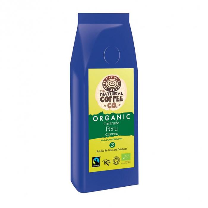 Cafea organica  Peru, Organic fairtrade, Smith's Coffee, 227gr 0