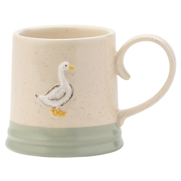 Cana din ceramica Edale Goose , David Mason Design, gasca, cana cu gasca 0