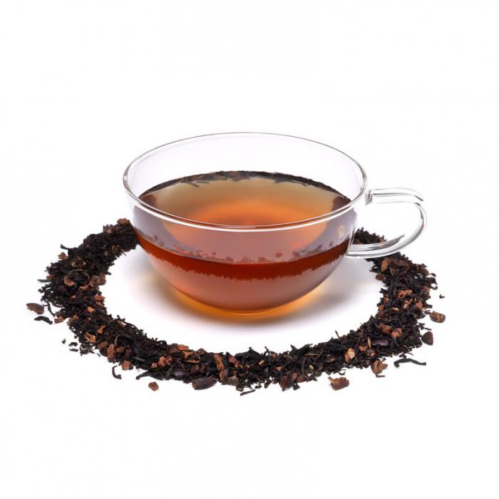 Ceai negru cu fulgi de cacao, Dark Chocolate, vrac, 50 gr, Whittard of Chelsea. [1]