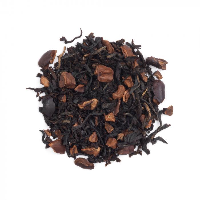 Ceai negru cu fulgi de cacao, Dark Chocolate, vrac, 50 gr, Whittard of Chelsea. [0]