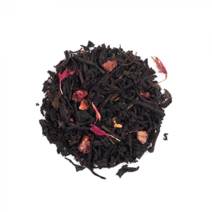 Ceai negru cu zmeura, Bohemian Raspberry, frunze, 50 gr, Whittard of Chelsea [0]