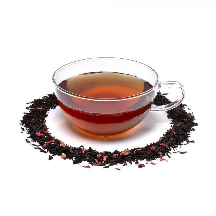 Ceai negru cu zmeura, Bohemian Raspberry, frunze, 50 gr, Whittard of Chelsea [1]