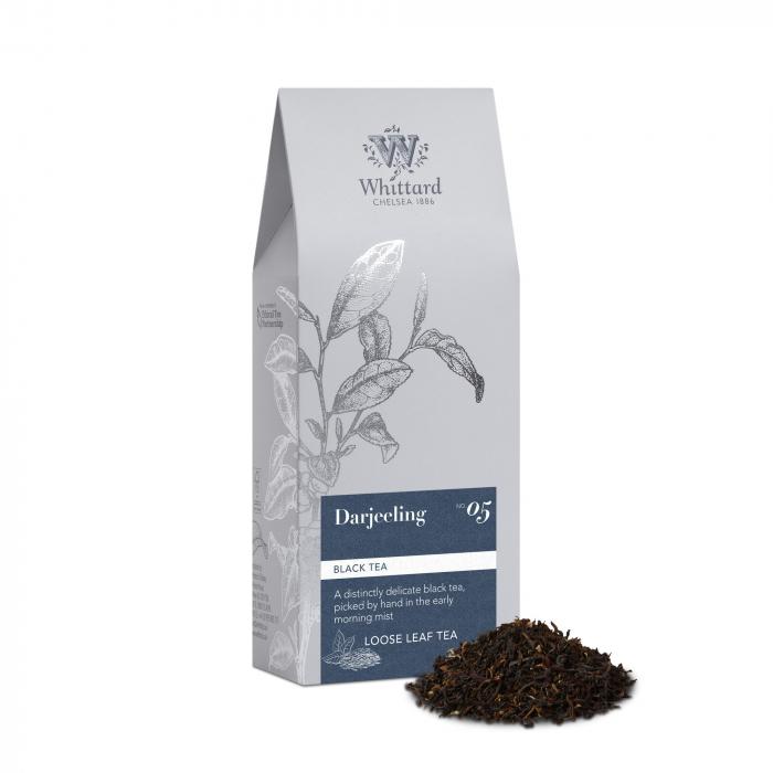 Ceai negru Darjeeling, frunze, Whittard of Chelsea 0