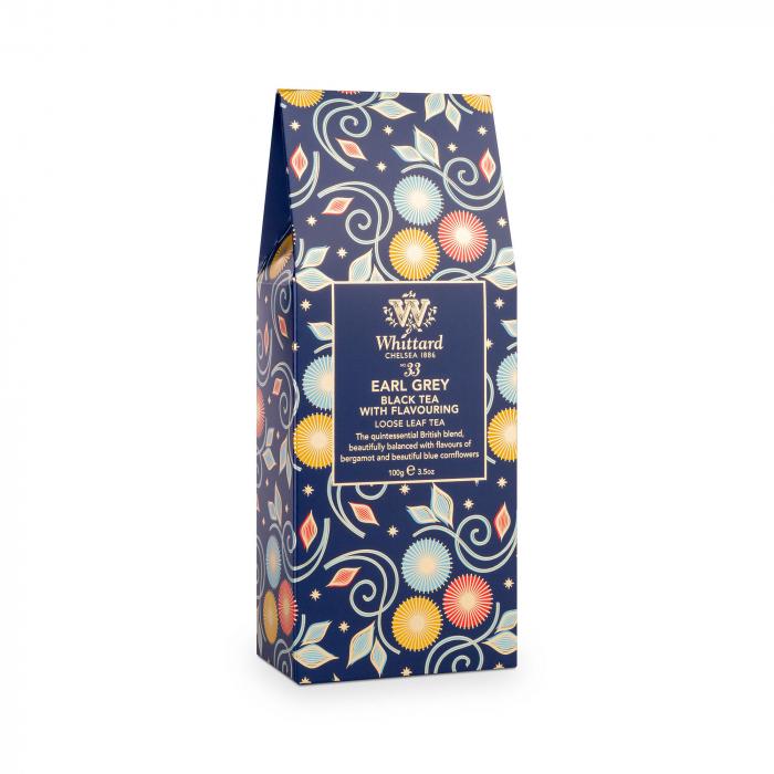 Ceai negru Earl Grey, editie limitata de Craciun, frunze, Whittard of Chelsea [0]
