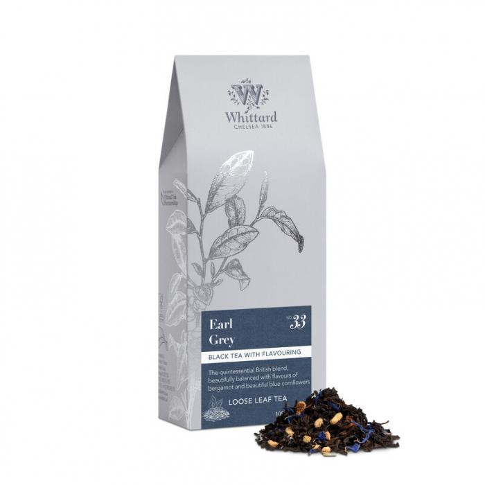 Ceai negru Earl Grey, pouch, Whittard of Chelsea 1