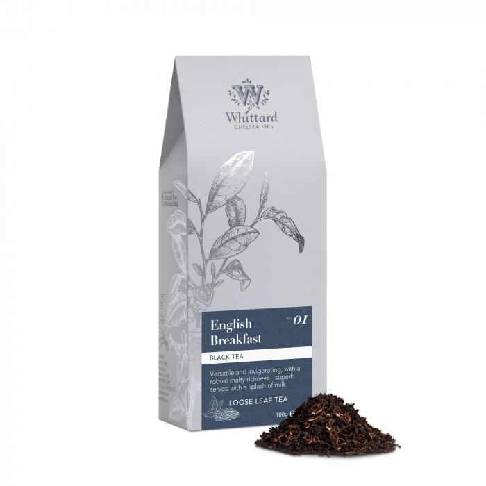 Ceai negru English Breakfast, frunze, Whittard of Chelsea 0