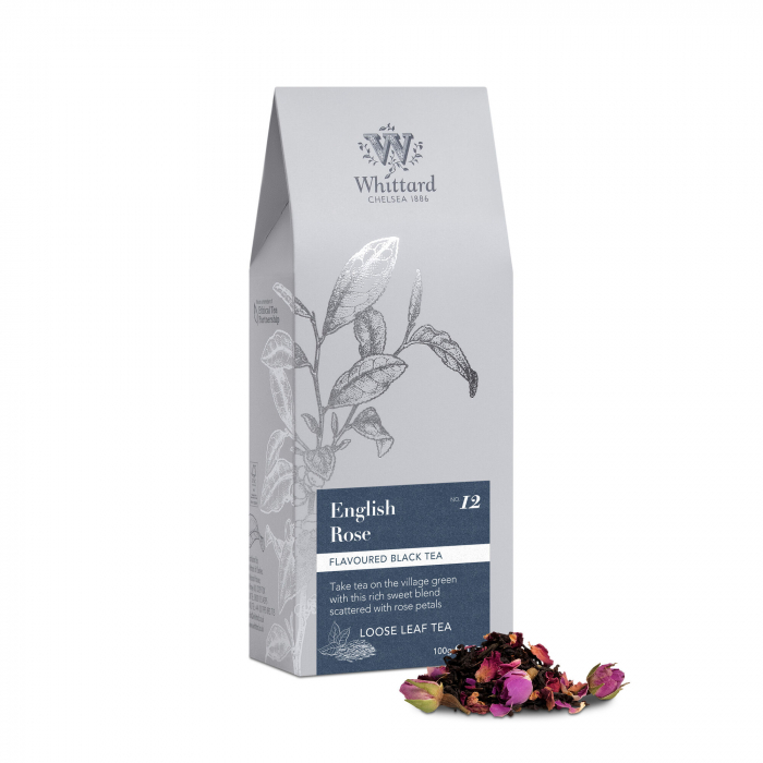 Ceai negru English Rose, frunze, Whittard of Chelsea [0]