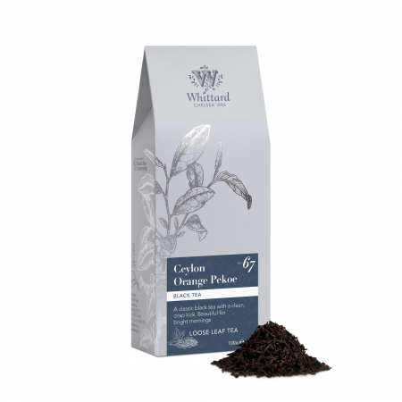 Ceai negru Orange Ceylon Pekoe nou, Whittard of Chelsea, 100 gr [0]