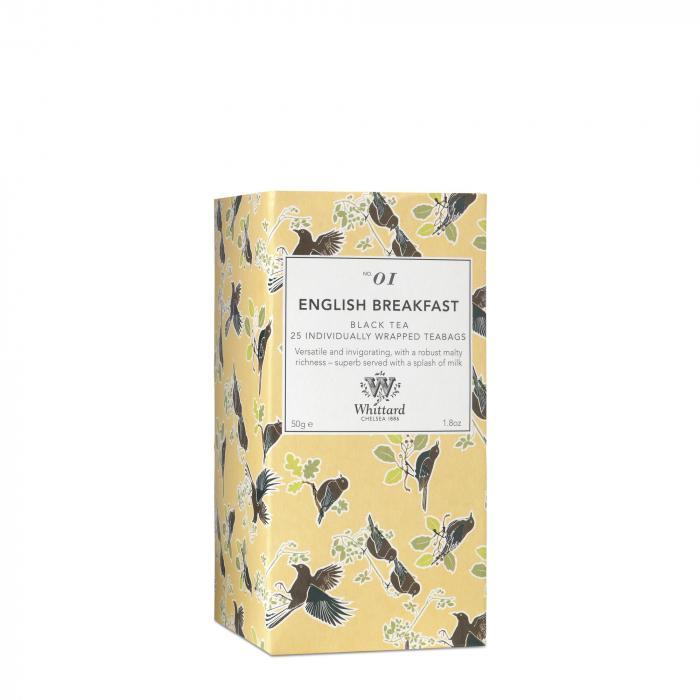 Ceai negru Tea Discovery, Whittard of Chelsea, 25 plicuri 0