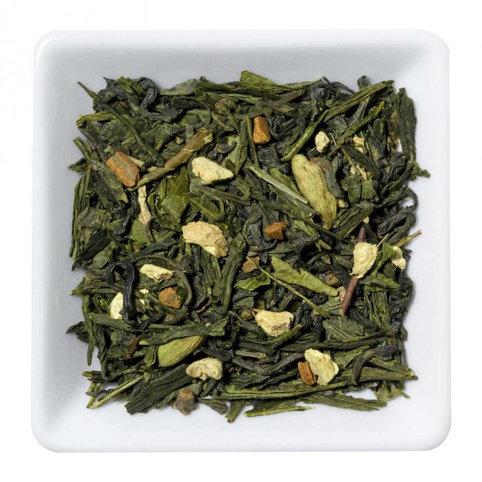 Ceai verde, Chai, vrac, aromat & spicy, 50 gr [0]