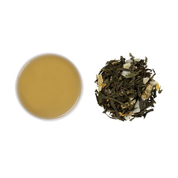 Ceai verde cu fructe tropicale, Honolulu Hula, frunze, 50 gr, Whittard of Chelsea [0]