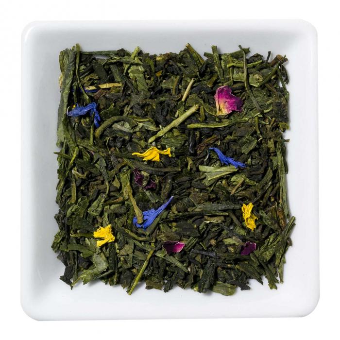 Ceai verde cu mango si rubarba, frunze, 50 gr. [0]
