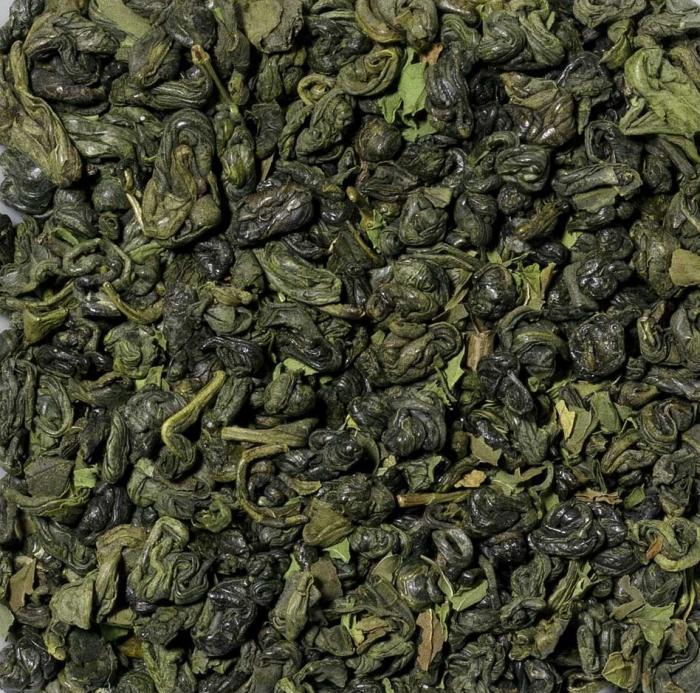 Ceai verde cu menta, vrac, 50 gr 1