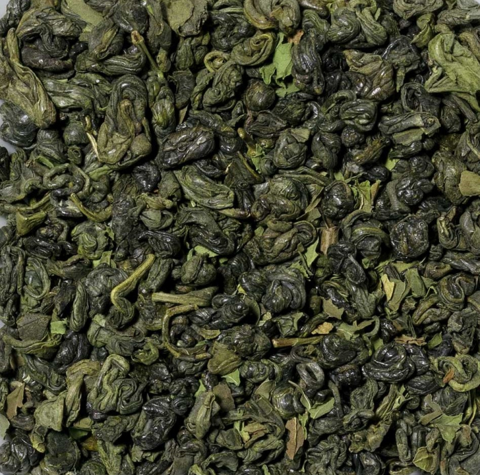 Ceai verde cu menta, vrac, 50 gr 0