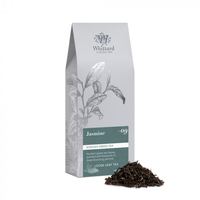 Ceai verde Jasmine, frunze, Whittard of Chelsea 0
