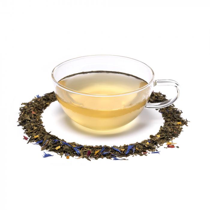 Ceai verde cu mango si bergamota 2