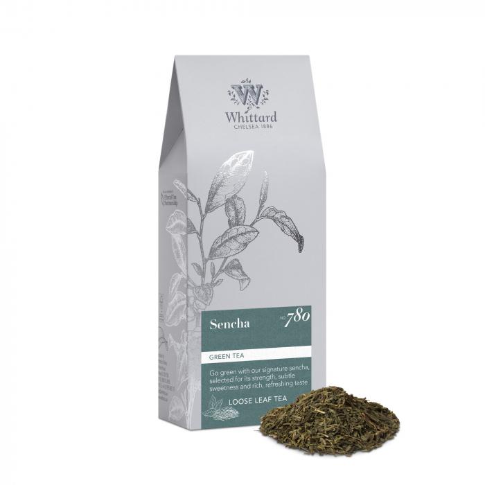 Ceai verde Sencha, frunze, Whittard of Chelsea 0