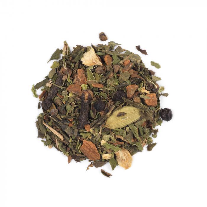 Ceai verde spicy, Shanghai Chai, frunze, 50 gr, Whittard of Chelsea [0]