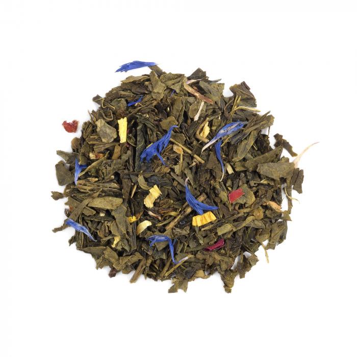 Ceai verde cu mango si bergamota, frunze, 50 gr, Whittard of Chelsea [0]