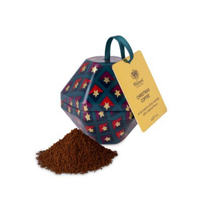 Christmas Coffee, ambalaj glob metalic, 40 gr. Whittard of Chelsea 1