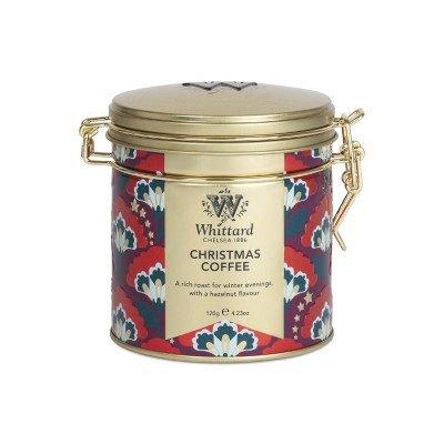 Christmas Coffee, cutie metalica, 120 gr, Whittard of Chelsea 0