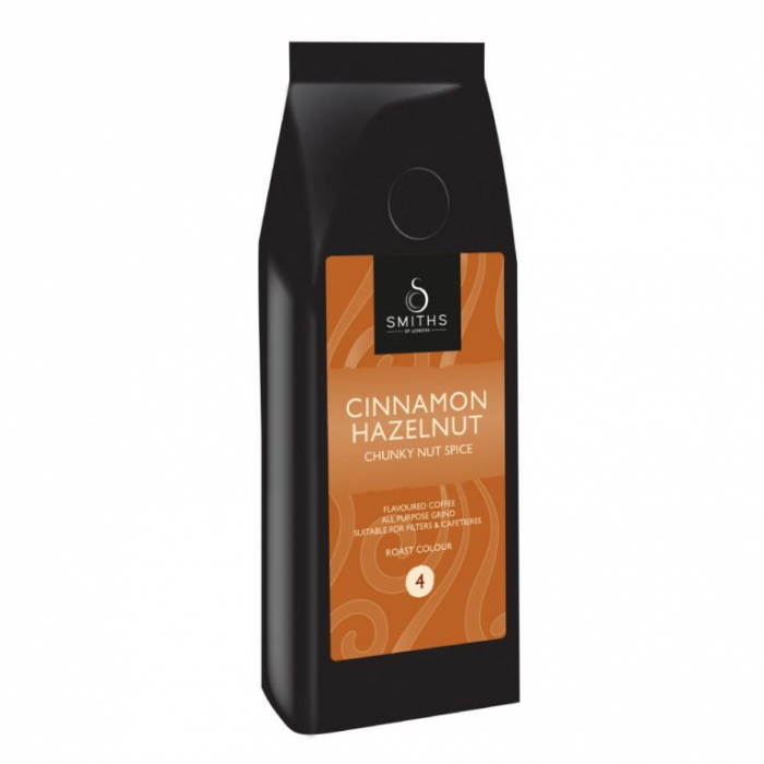 Cafea macinata Cinammon Hazelnut, Smith's Coffee, 250gr 0