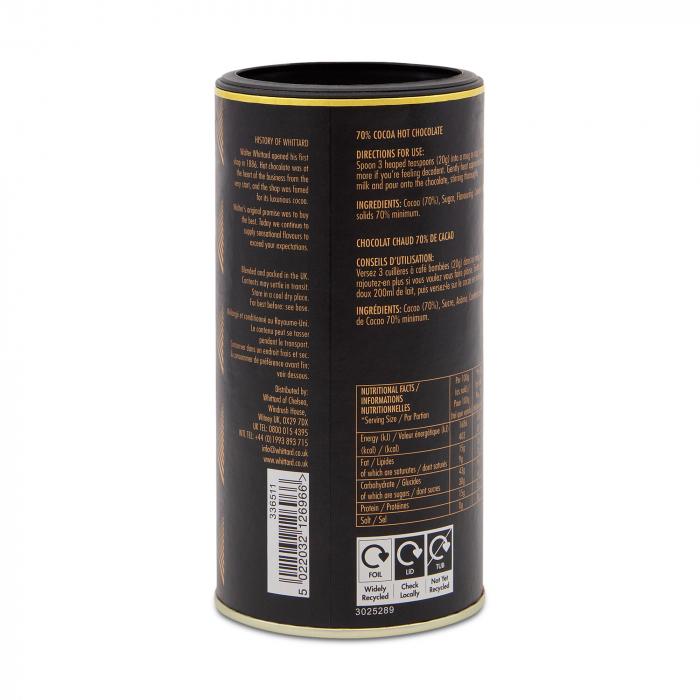 Ciocolata calda 70% cacao 2