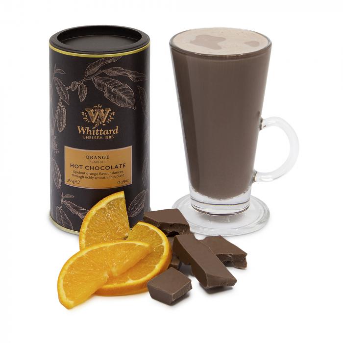 Ciocolata calda cu aroma de portocale 1