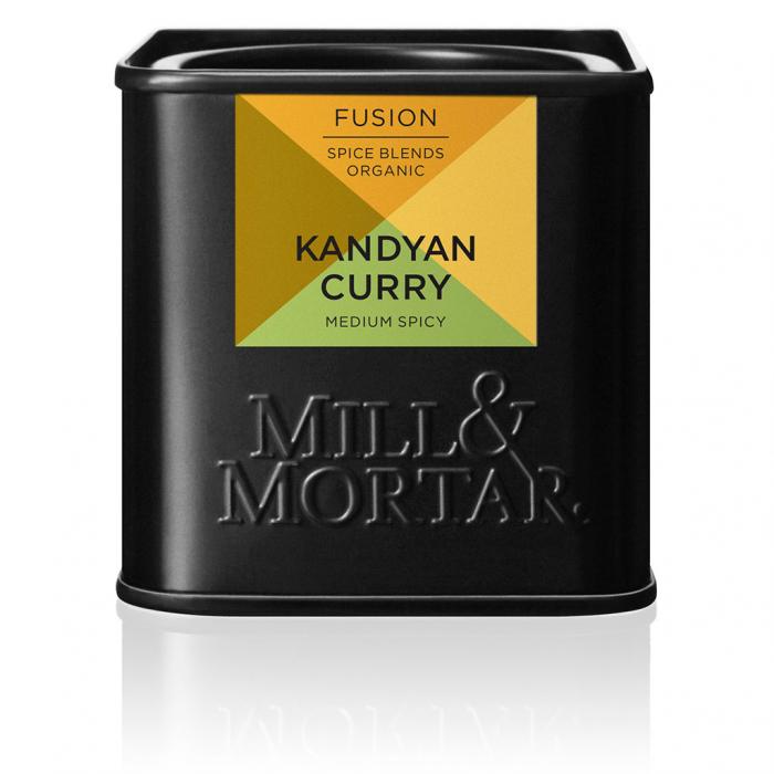 Condiment indian, organic, Kandyan curry, Mil&Mortar, 50 gr [0]