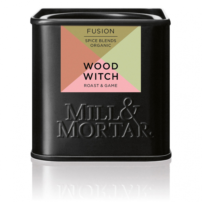 Condiment organic pentru carne, Wood Witch, Mill& Mortar, 50gr. 0