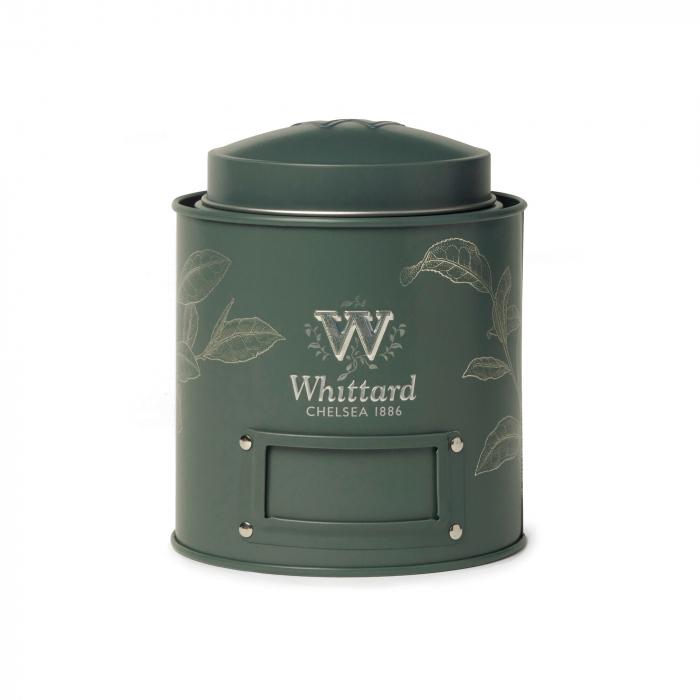 Cutie depozitare ceai, Caddy Green, Whittard of Chelsea [0]