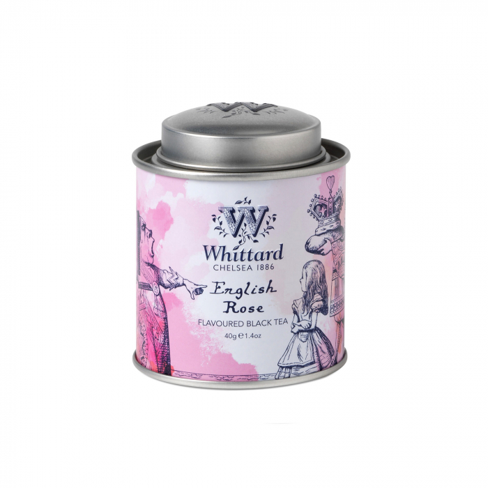 Enghlish Rose mini tin, colectia Alice in Wonderland 0